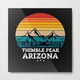THIMBLE PEAK Arizona Metal Print