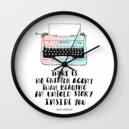 WRITE Wall Clock