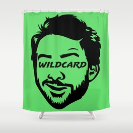 Wildcard Charlie Shower Curtain