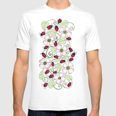 Don't Bug Me Mens Fitted Tee White MEDIUM