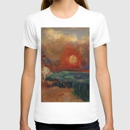 "Odilon Redon ""Saint George and the Dragon (Saint Georges et le dragon)"" T-shirt"