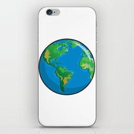 Earth Icon iPhone Skin