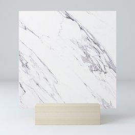 Marble - Classic Real Marble Mini Art Print