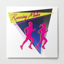 Running Mates Metal Print