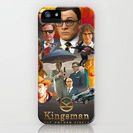 Kingsman: The Golden Circle iPhone Case