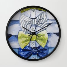 Bow Tie for All Occasions Wall Clock