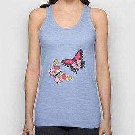 Butterfly pattern 001 Unisex Tank Top