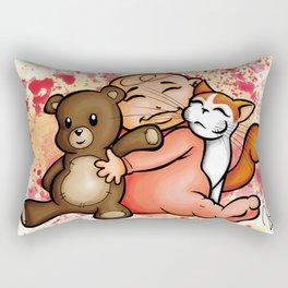 Group Hug Rectangular Pillow