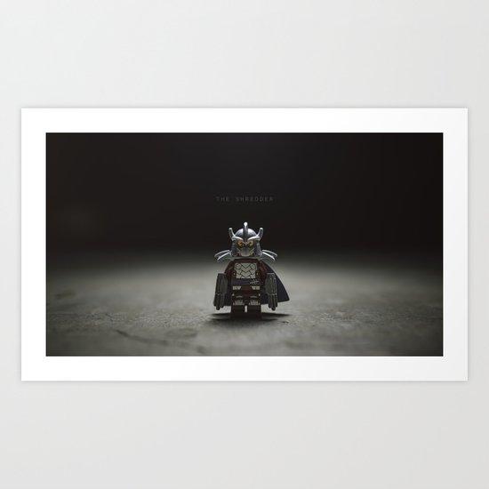 The Shredder Art Print