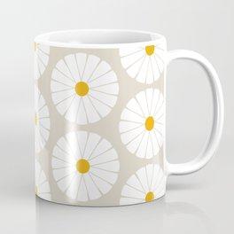 Minimal Botanical Pattern - Daisies Coffee Mug