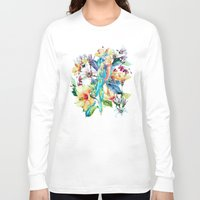 parrot Long Sleeve T-shirts featuring PARROT by RIZA PEKER