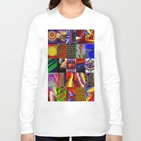 mosaic Long Sleeve T-shirts featuring mosaic by donphil