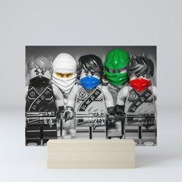 Ninjago Crew Mini Art Print