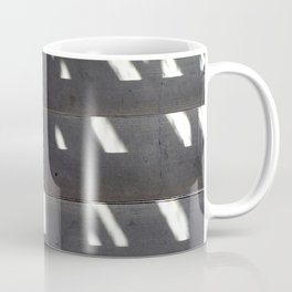 Shadows on Concrete Staircase Coffee Mug