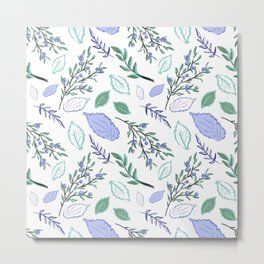 Beautiful Nature Inspired Print Metal Print