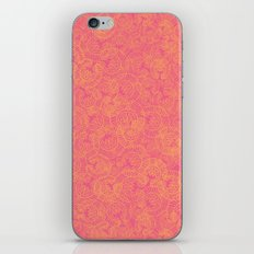 Transient half tone color blocking iPhone & iPod Skin
