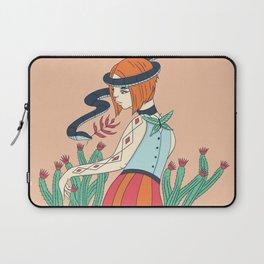 Cactus Snake Woman Laptop Sleeve