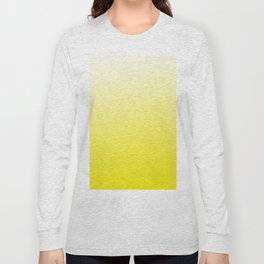 Simply sun yellow color gradient - Mix and Match with Simplicity of Life Long Sleeve T-shirt