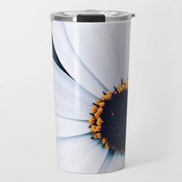 White Aster Travel Mug
