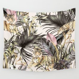 Tiger of the jungle Wall Tapestry