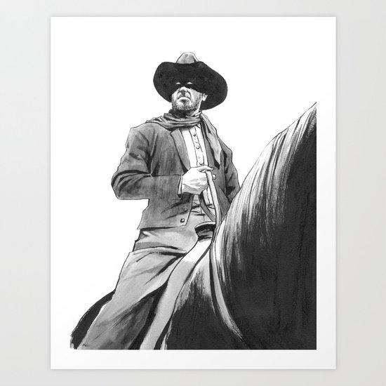 Lone Ranger Art Print