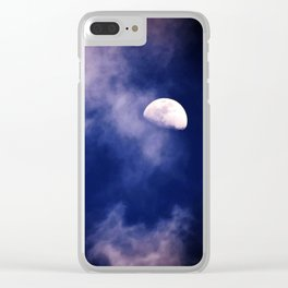 Mark's Moon #152 Clear iPhone Case