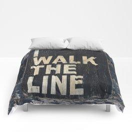 I Walk The Line Comforters