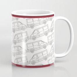 Sprinter Van Up a& Downhill Coffee Mug