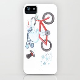 Walden's Red Bike iPhone Case