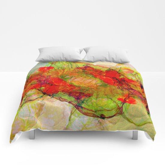Organic eclipse Comforters