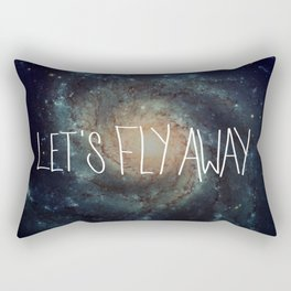 Let's Fly Away (come on, darling) Rectangular Pillow