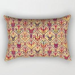 Kilim Fabric Rectangular Pillow