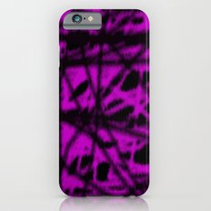 pink and black wire iPhone 6s Slim Case