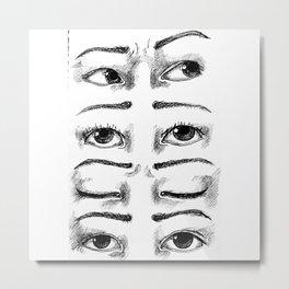 Eyesight Metal Print