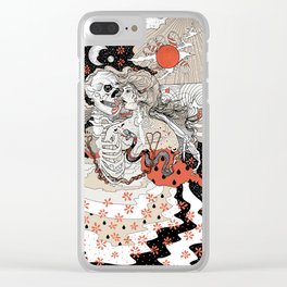 Just Animals Clear iPhone Case