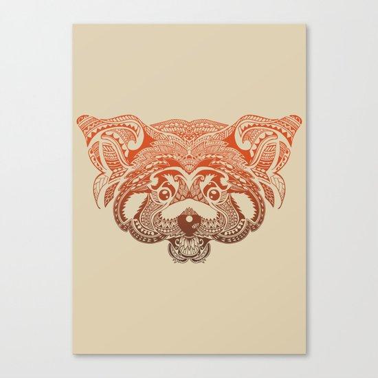 Polynesian Red Panda Canvas Print