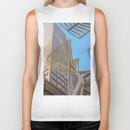 downtown sky Biker Tank