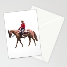 Western Pleasure Stationery Cards