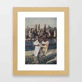 Kid Kong Framed Art Print