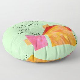 Our Feelings Are Valid - Mental Health Self-Love Illustration Tea Pot Coffee Cup  Floor Pillow