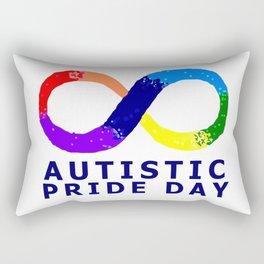 Autistic Pride Day Rectangular Pillow
