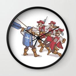 Dart'Agnan Wall Clock