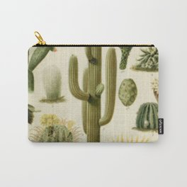 Naturalist Cacti Carry-All Pouch