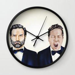 Adam and Joe Wall Clock