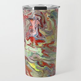 Abstract Oil Painting 4 Travel Mug