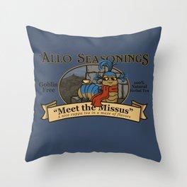 Meet the Missus Tea Throw Pillow