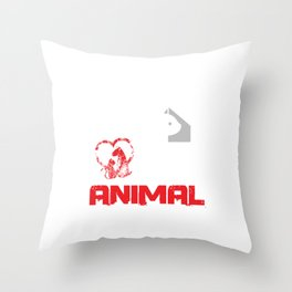 Activist Vegan Pet Owners Animals Lover Fight For Animal Rights Wildlife Gift Throw Pillow