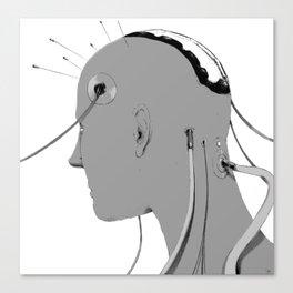 Cybernetic Coma Canvas Print
