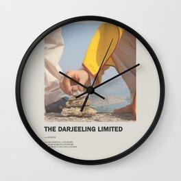 Darjeeling Limited Minimal Movie Poster No 02 Wall Clock