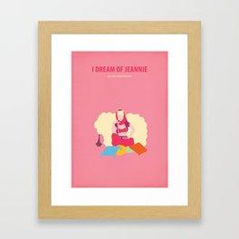 I dream of Jeannie Framed Art Print